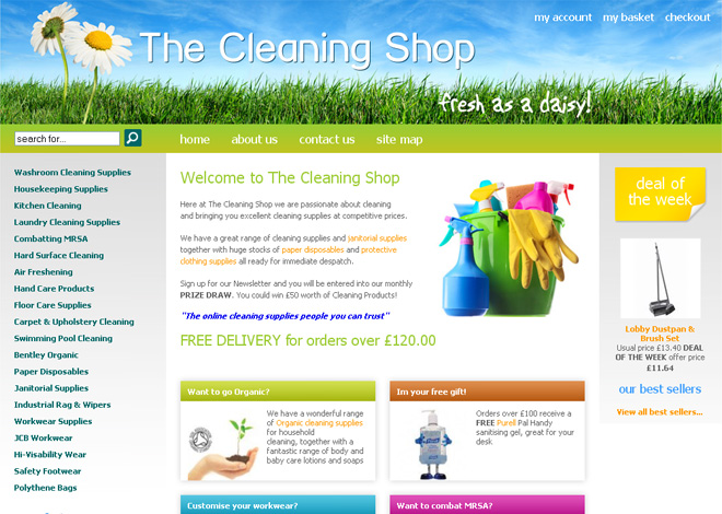 The Cleaning Shop
